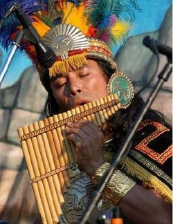 Love the pan flute? Get your fill today and tomorrow. - WWW.INCASON.COM