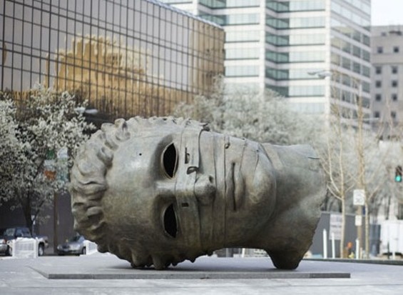 The face of Citygarden - IMAGE SOURCE