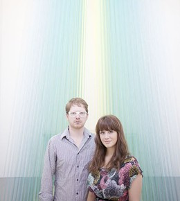Brea and James McAnally, founders of the Luminary - PHOTO BY JENNIFER SILVERBERG