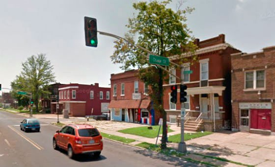 Osage and Grand. - VIA GOOGLE MAPS
