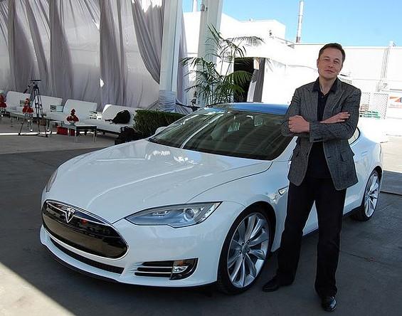 Elon Musk, CEO of Tesla. - PESTOVERDE ON FLICKR