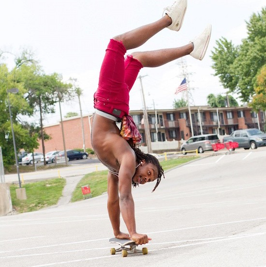 Gray was known for his ability to ride a skateboard for blocks at a time while maintaining a handstand. - FACEBOOK
