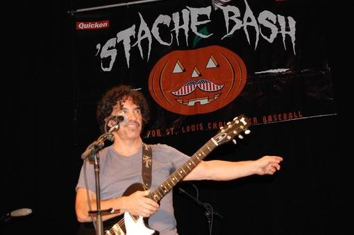 John Oates at the 'Stash Bash on Friday night. - PHOTO: CHAD GARRISON