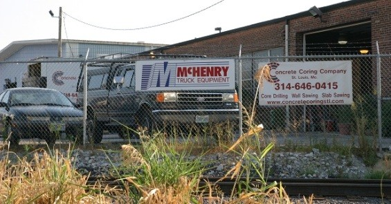 McHenry Truck Equipment's new location off Manchester Road in Cheltenham. - PHOTO BY NICHOLAS PHILLIPS