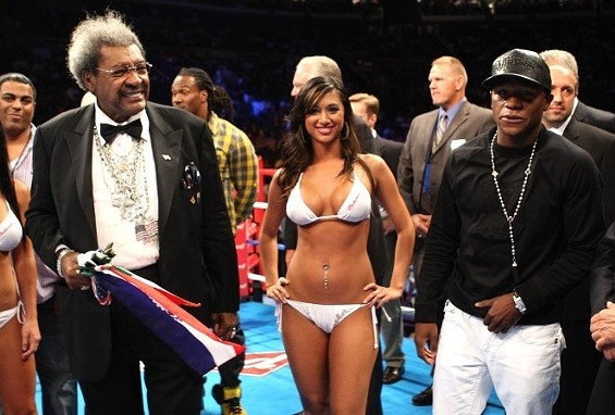 It's Don, Floyd and the second-most attractive woman on the blog today. - IMAGE SOURCE