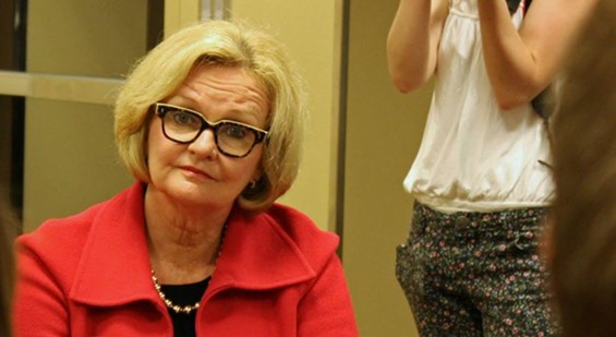 Claire is all about that paper! - CLAIRE MCCASKILL/FACEBOOK