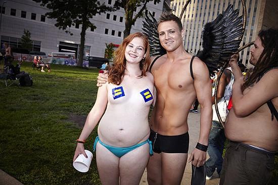 People of PrideFest 2013 Slideshow. - STEVE TRUESDELL FOR RFT