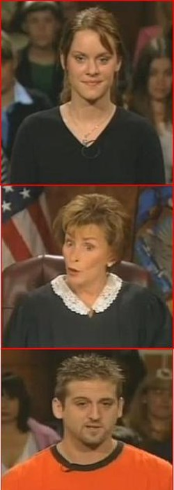 Landing Barmaid vs. Douchebag: Whaddya think, Judge Judy?
