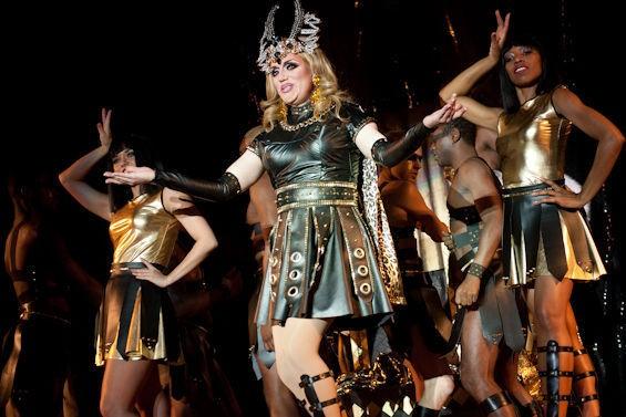 Kansas representative and Missouri dweller Jade Sinclair takes on Madonna. See the full slideshow of photos here. - JON GITCHOFF