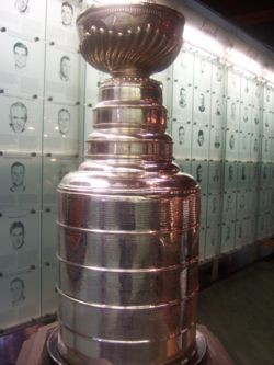 This is the Stanley Cup. The Blues aren't winning it this year.