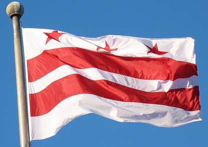 Little known fact: The DC flag was is based on George Washington's coat of arms.
