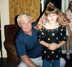 Young Mike Leahy and his Grandpa Earl. - COURTESY MIKE LEAHY