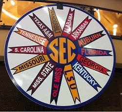 And the SEC Wheel of Rivals lands on ... Arkansas!