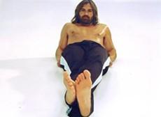 "Damon, back in his ""Sexy Jesus"" years - THEBOSTONBLOGGER.BLOGSPOT.COM"