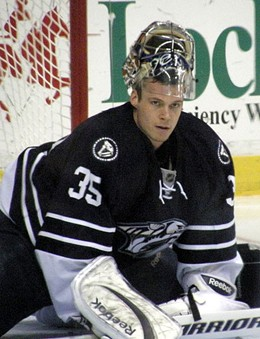 Pekka Rinne looks more and more like a hired killer in a Bond film every time I see him. - COMMONS.WIKIMEDIA.ORG