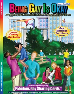 Being gay: It's so OK that it gets its own trading cards!