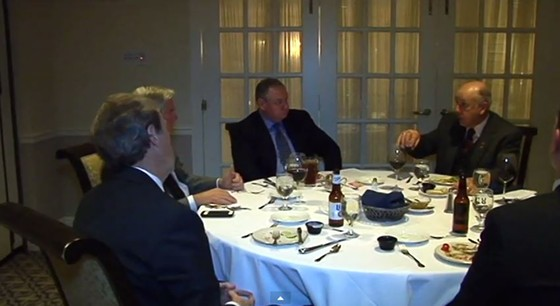 For these Missouri representatives, lawmaking also comes with a lot of free food. - YOUTUBE/KRCG 13