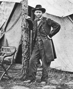 In addition to his other accomplishments, Grant was also capable of posing for pictures like a badass. - MATHEW BRADY