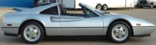 A 1988 Ferrari 328 similar to the one seized from Webster. - COLLECTORMOTORS.COM