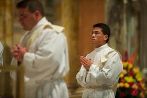 Fr. Joseph Jiang ordained in 2010. - VIA