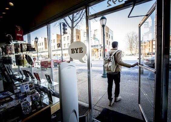 """Say, """"Bye,"""" to Star Clipper's location in the Loop. - JENNIFER SILVERBERG"""