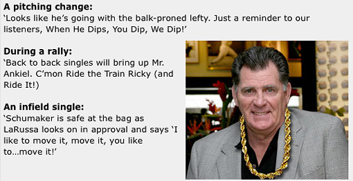 Imagine if you will, Mike Shannon as the color man for the NBA. - VIA INSIDESTL