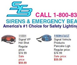 You, too, can pretend to be a cop for the low, low price of $59.99!!! - SEB-USA.COM
