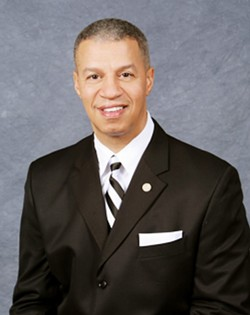 Alderman Gregory J. Carter, who served in the same ward in which he grew up.