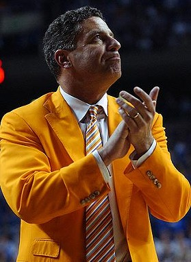 This is the man Cuonzo Martin will be replacing. One can only hope he'll be able to do better at least from a fashion perspective.