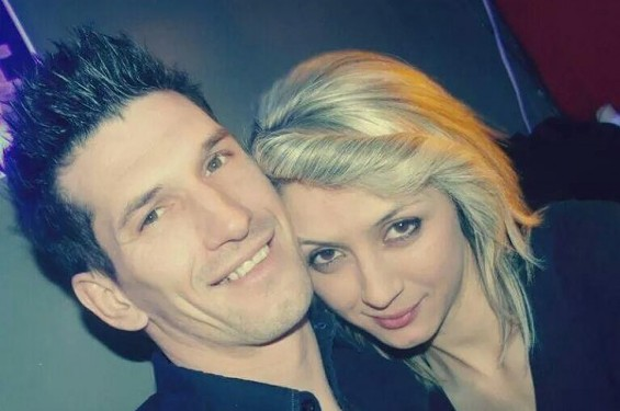 Zemir Begic and his wife. - VIA