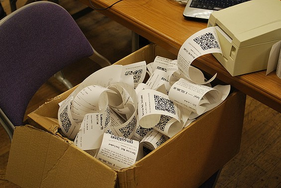 Ishaan Davis' crew used fake receipts to steal more than $400,00 in faked returns. - BEN_OSTEEN ON FLICKR