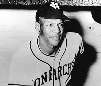 Buck O'Neil, Kansas City Monarchs manager, first black coach in Major League Baseball and founder of the Negro Leagues Museum. - WIKIMEDIA COMMONS