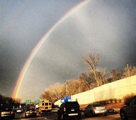 Rainbows! Big photos below. - VIA EARLY131