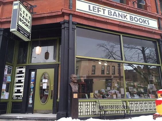 Left Bank Books in the Central West End. - LINDSAY TOLER