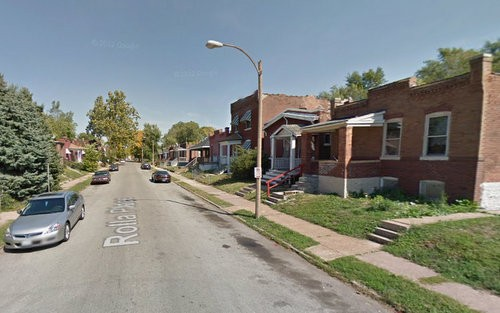 The 3000 block of Rolla Place, where Michail Gridiron lived and died. - GOOGLE MAPS