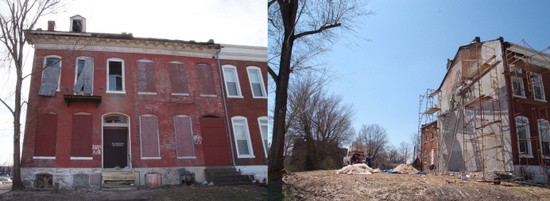 This home at Lafayette and Nebraska disappeared in six years.