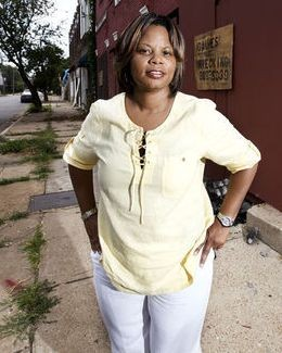 State Rep Jamilah Nasheed: Big supporter of the local police control ballot initiave - PHOTO BY JENNIFER SILVERBERG