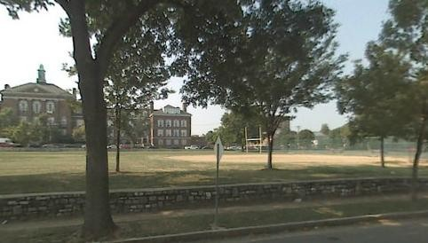 Tandy Park lies at the corner of Kennerly and Billups in front of Sumner High School.