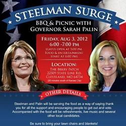 Palin's endorsement wasn't enough for Steelman.