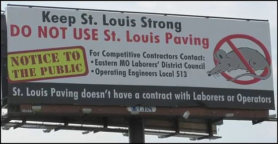 Seen this billboard? The Romney campaign has!