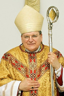 Raymond Burke left the St. Louis Archdiocese and is now a cardinal in Rome. - WIKIMEDIA COMMONS