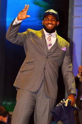 Michael Brockers, Rams draft pick and sharp-dressed man.