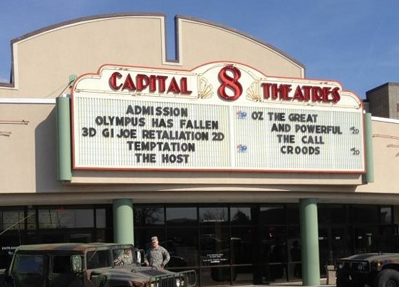 Capital 8 Theater. - VIA FACEBOOK