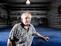 Old-school wrestling legend Harley Race. - JENNIFER SILVERBERG