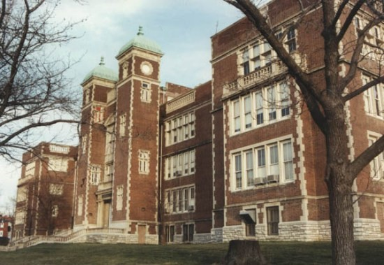 Central High School in 2002, before its closure in 2004. - COURTESY OF ROBERT POWERS, BUILT ST. LOUIS