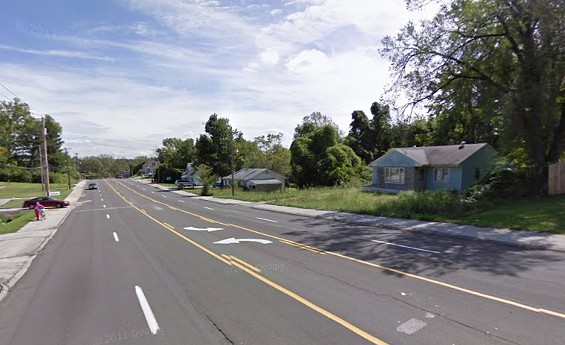 Street where the shooting happened. - VIA GOOGLE MAPS