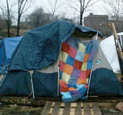 Hopeville encampment last year. - VIA ROBERTBOETTCHERPHOTOGRAPHY.COM