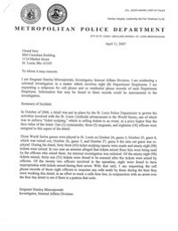 Click to enlarge this police request to a Grand Jury looking at the ticket scandal case. - SLMPD INTERNAL AFFAIRS FILE