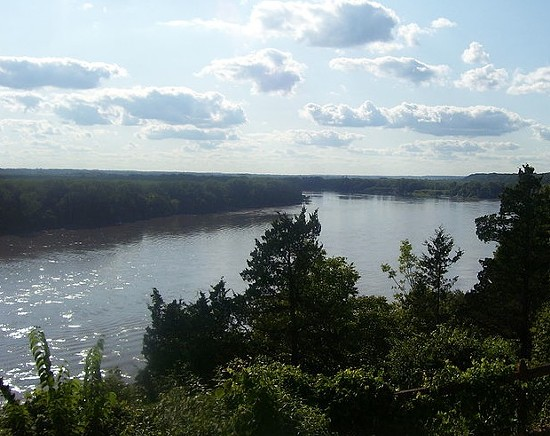 Missouri River. - AIMEE CASTENELL PHOTO VIA