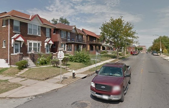 Anderson Avenue, the site of two shootings in two days in the Penrose neighborhood. - VIA GOOGLE MAPS